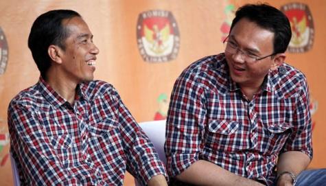 Baju Kotakkotak JokowiAhok  Planet Hijau